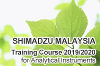 SHIMADZU MALAYSIA Training Course 2016/2017 for Analytical Instruments